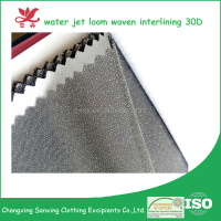 double dot woven interlining fabrics for garment accessories(30D*30D)