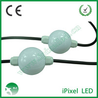 50mm DMX 3D Ball 3D Effect pixel Light ws2801 ic chip