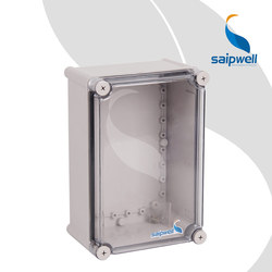 CE Approval Electronic Device Storage Box Outdoor 280*190*130mm Din Rail Plastic Enclosure