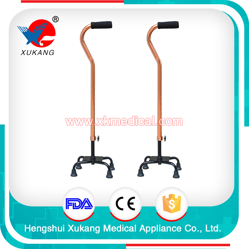 High quality aluminum alloy 4 legs crutch with CE certificate
