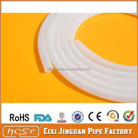 Manufacturer USA Medical & Food Grade Transparent 2mm Silicone Rubber Tube, Heat Resistant Reinforced Tube, Silicone Tube Hose