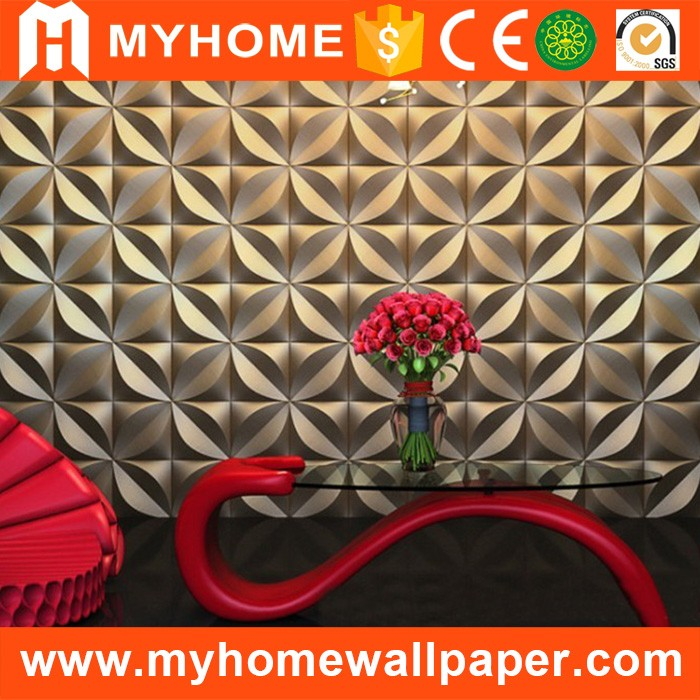 China supplier modern wall decoration faux leather 3d texture wall panel for office wall
