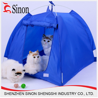 Pet products durable oxford fabric foldable water proof dog/cat bed tent