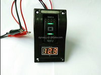 12-24v Car Auto led rocker switch with voltmeter panel for Car 4x4 LED Offroad Light Bar