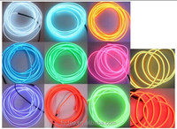 Multifunctional diameter of 1.4mm/2.3mm/ 3.2mm/ 5.0mm Costume Electroluminescent EL wire Wholesale