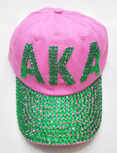 Geek letter Fraternity or AKA Sorority cotton 6 panel custom baseball caps <strong>hats</strong>