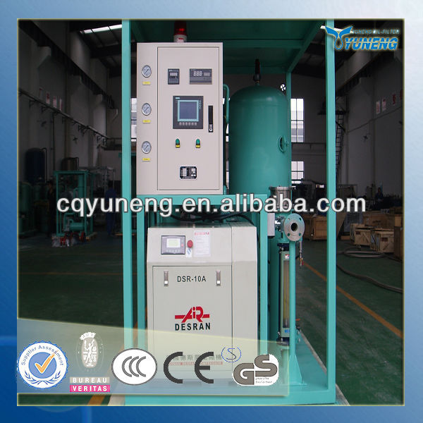 Dehydrate by regenerated absorption air dryer (GF)