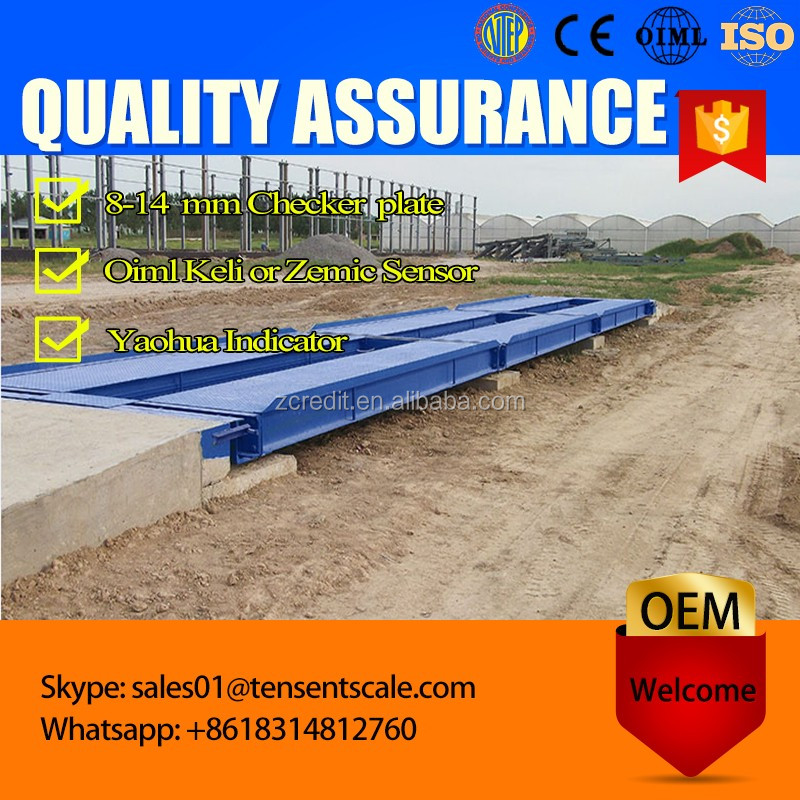 industrial digital modular truck weighbridge scale