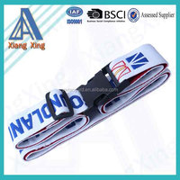 Cheap sales custom single sublimation printing luggage belt with your logo