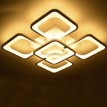 Creative design modern minimalist LED ceiling lamp restaurant bedroom light