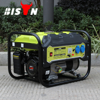 BISON(CHINA)2KW 2KVA Single Phase CE Certificated Portable Groupe Electrogene Gasoline Generator