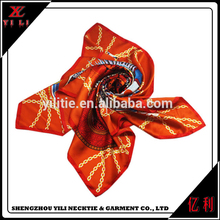 Fashion colorful wholesale woman silk scarves for dyeing