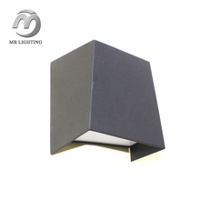 Chinese factory sale new product 6W aluminum die cast outdoor led wall light