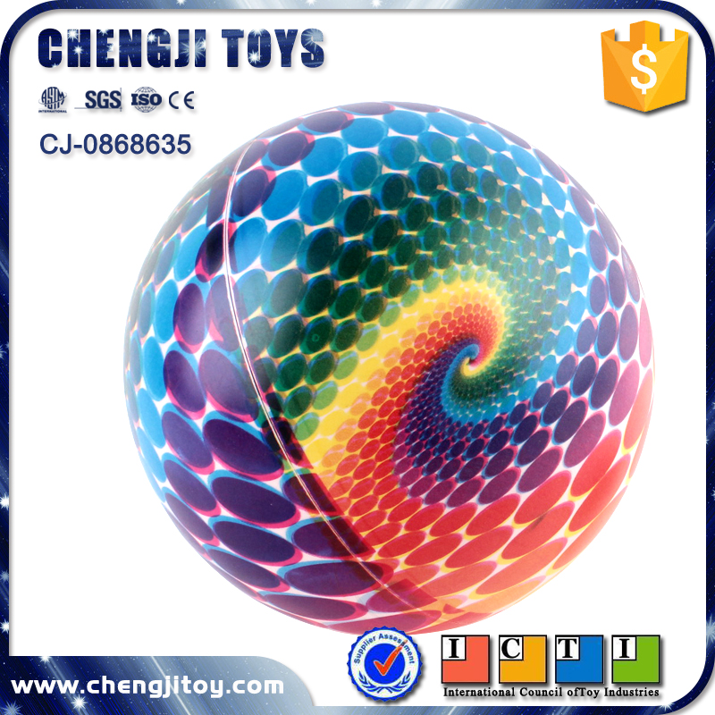 Children outdoor beach game 9 inch small inflatable pvc ball