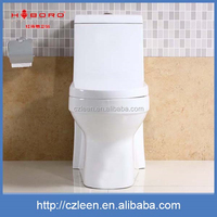 Professional ceramic siphonic one piece wc toilet bathroom