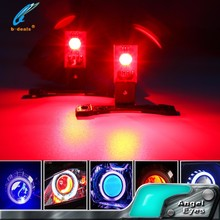 Car Spare parts High Quality RGB Demons Eyes LED Devil Eyes Kits for Hid Projector Lens