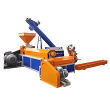 lowest price waste plastic crusher use <strong>PP</strong>/PE plastic type pelletizing machine