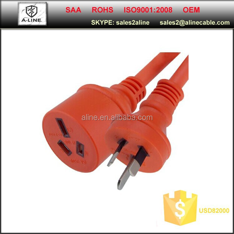 SAA heavy duty extension cords