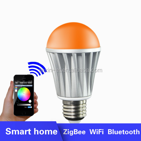 2015 WiFi Smart LED Lighting Series! Music Alarm Group WiFi LED Bulb,WiFi RGB LED Bulb,WiFi Smart LED Light Bulb