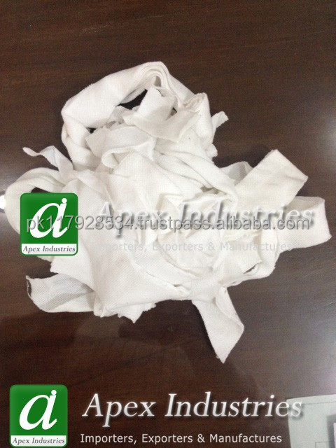 White Hosiery Cotton Clips