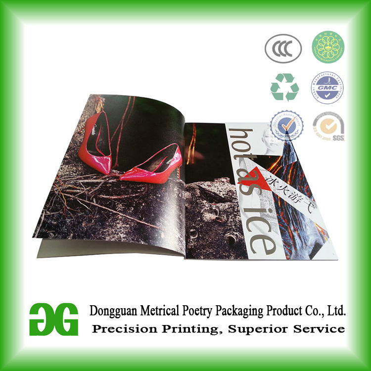 Full color luxury Magazine Printing/Catalogue/Brochure Printing Dongguan