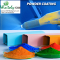 Powder electrostatic paint
