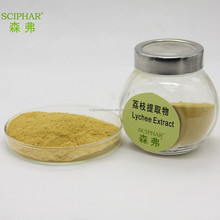 100% natural Lychee seeds extract powder with polyphenol 50%