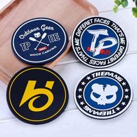 Promotional custom PVC soft rubber coaster Non-slip insulation gift coaster