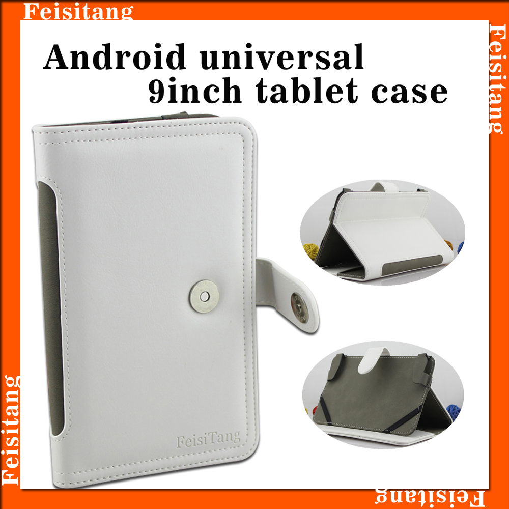 Adroid 9inch PU microfiber leather tablets protective case