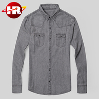 2016 New Fashion Jackets Denim Jeans Long Sleeve Men;s Jeans Casual Comfortable Denim Shirt