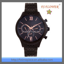 FS FLOWER - Watch Luxury Men High Quality Stainless Steel Fake Brand Watches