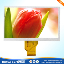 "800*480 vertical 7"" hotel lobby advertising display lcd panel monitor"