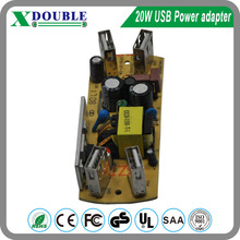 5V 4A open frame usb mobile charger pcb ac to dc power supply with CE