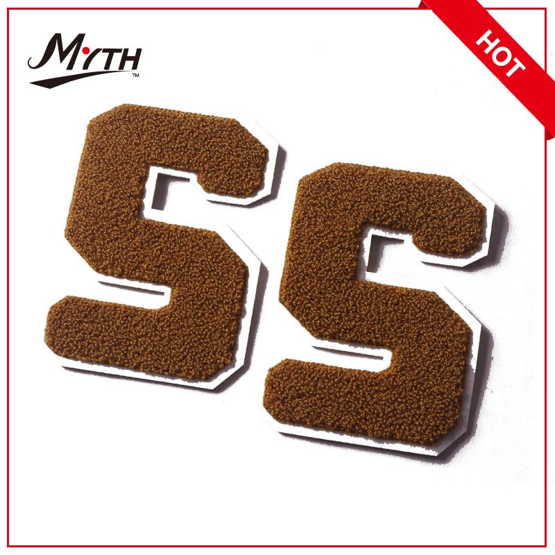 Wholesale clothes label cheap custom Logo embroidery label