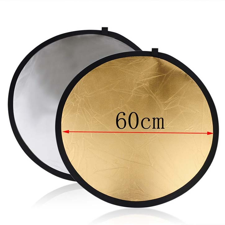 "60CM 43"" 5-in-1 Photography Studio Multi Photo Disc Collapsible Light Reflector"