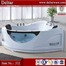 Freestanding bathtub stainless steel 304 base durable bathtub with massage function
