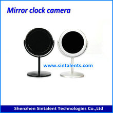 140 Degree DVR HD 1280X960 Digital Motion Detection Mirror Table Clock Camera