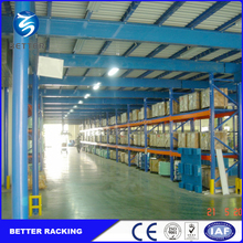 Space Saving Multi-level Steel Mezzanine Floor Attic Rack