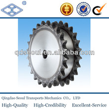 DIN 8187 ISO/R 606 08a-2 pitch 12.7 roller 8.51 12T roller chain duplex plate wheels sprocket 1/2*5/6