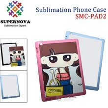Blank Sublimation Flip Leather Phone Case for iPad 2