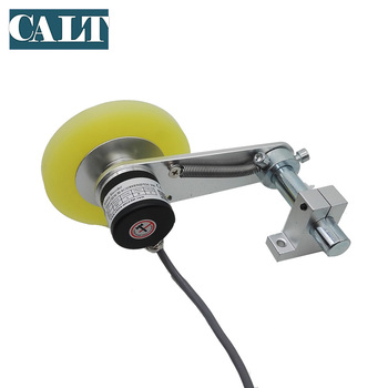CALT Incremental Rotary Solid Shaft Wheel Encoder for Length Meter Counter