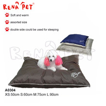 A0304 Indoor colorful soft warm pet house dog bed large