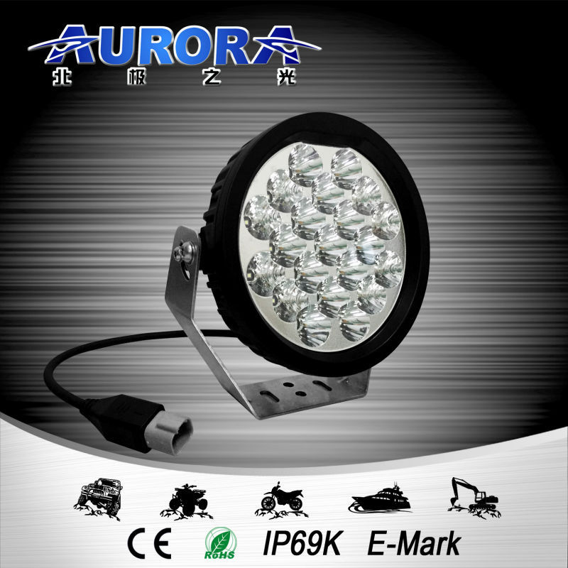 Hot sale led off road 4x4 led work light 12v round dome light