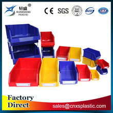 Industrial combined stackable plastic storage bins