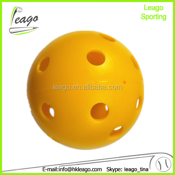 plastic mini baseball with different color