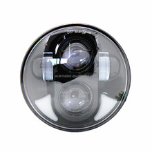 5.75 Inch Hi/Lo Beam Led Light Round Motorcycle Led Projector Headlight For Harley Davidson