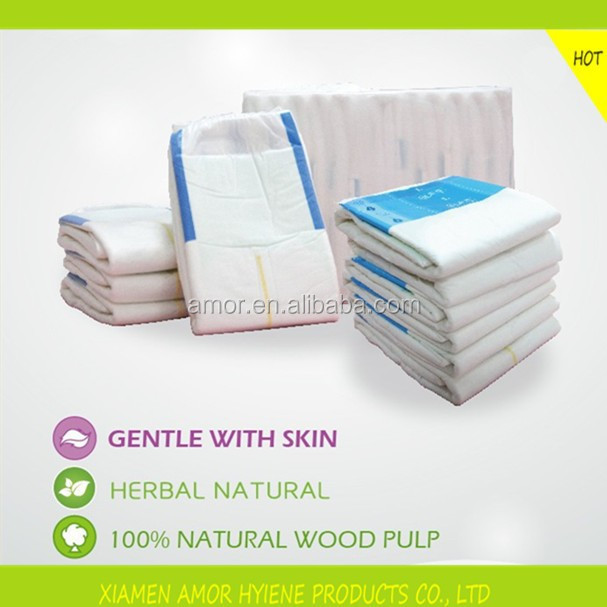 Adult Care Disposable High Absorbent Cheap New Design Adult Diaper Manufacturers