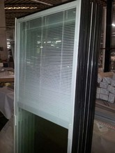 Manufacturer factory for sliding glass doors internal blinds