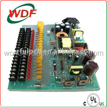 High performance air conditioner pcb board assembly with electronical components