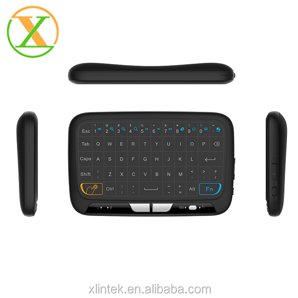Newsest Hot Sales Touch panel keyboard 2.4g Wireless Air Mouse With Qwerty Keyboard Android Tv Remote H18 keyboard i8